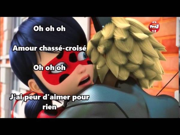 Miraculous Ladybug Chat Noir Theme Song (French) Lyrics