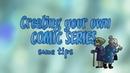 CREATING YOUR OWN COMIC SERIES some tips Как создать свой собственный комикс