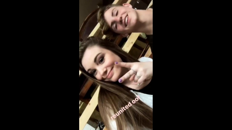 Insta story from Darby Capillino (29.03.18) - Reunited oof