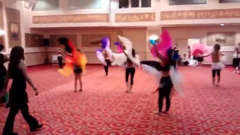 Lia Verra s Fan Veil Workshop - Lesson @ LdB Greece Oriental Dance Festival 24008