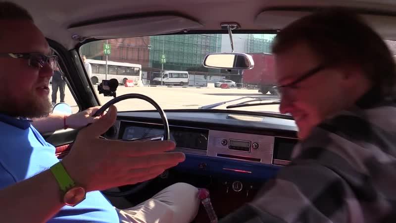 Волга ГАЗ-24 на быстрой пневме