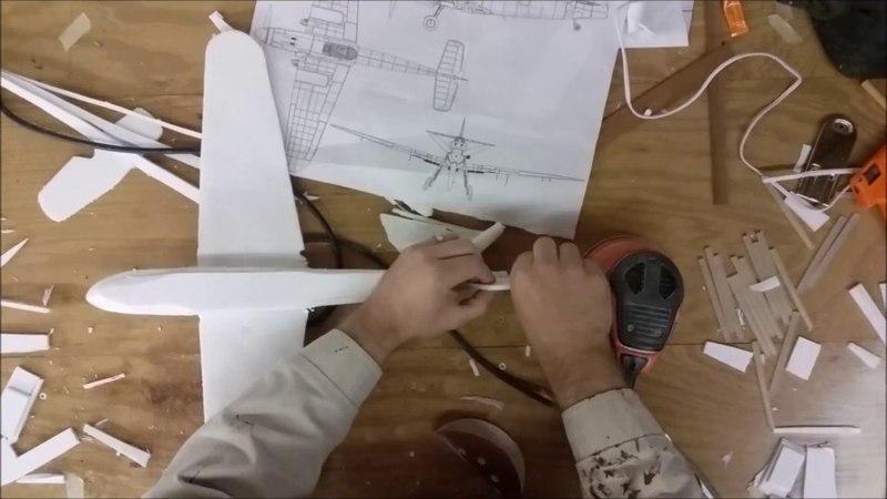DIY Foam Glider Airplane