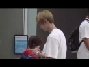 Jun fancam @Incheon airport (15.08.18)