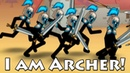 I am Archer! Clone Armies stickmen! Good Clone Stick War! Атака стикменов! 1