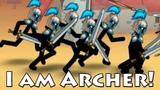 I am Archer! Clone Armies stickmen! Good Clone Stick War! Атака стикменов! #1