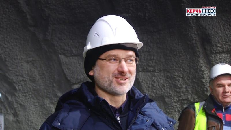 Завершилась проходка тоннеля на подходах к Крымскому мосту