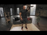 Домашние тренировки с Денисом Семенихиным. Упражнения на дельты (книги вместо га