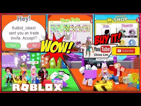 🐾 Roblox Pet Simulator! Trading Update! Shout out to Kulbid isbest! Loud Scream Warning!