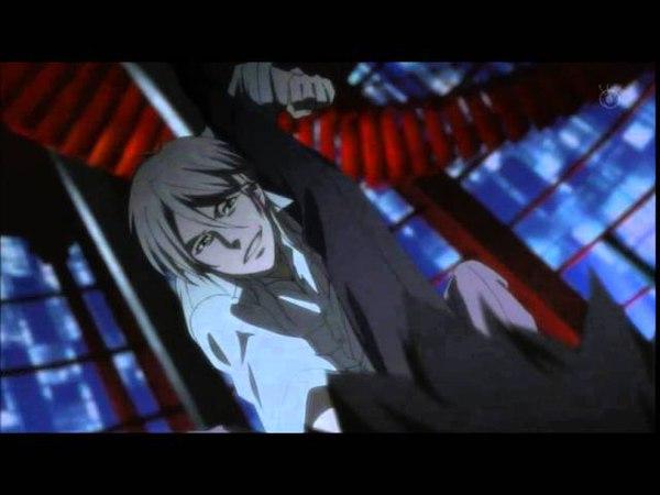 Psycho Pass - Kougami vs Makishima Part.1 (Full Fight)