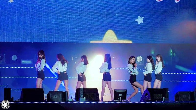 [4K] 180526 구구단 직캠 '나 같은 애(A Girl Like Me)' gugudan Fancam @2018 그린콘서트 서원밸리 By 벤뎅이