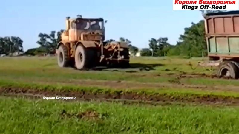 Трактор кировец к-700 и к-701