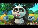 Кротик и Панда  - сборник -  Самые интересные предметы в бамбуковом лесу-  развивающий мультфильм