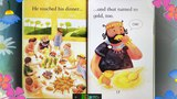 KING MIDAS AND THE GOLD Read aloud by little girl Clover