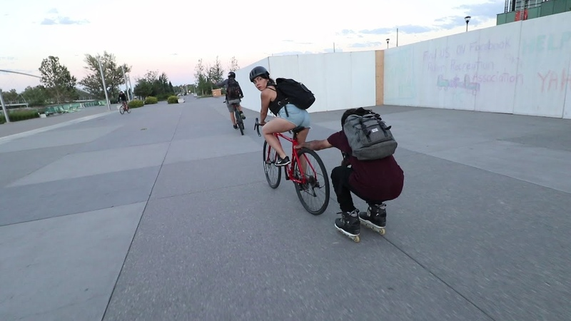 WHAT HAPPENED TO MY BIKE - Happiness on Inline Skates - Part 3