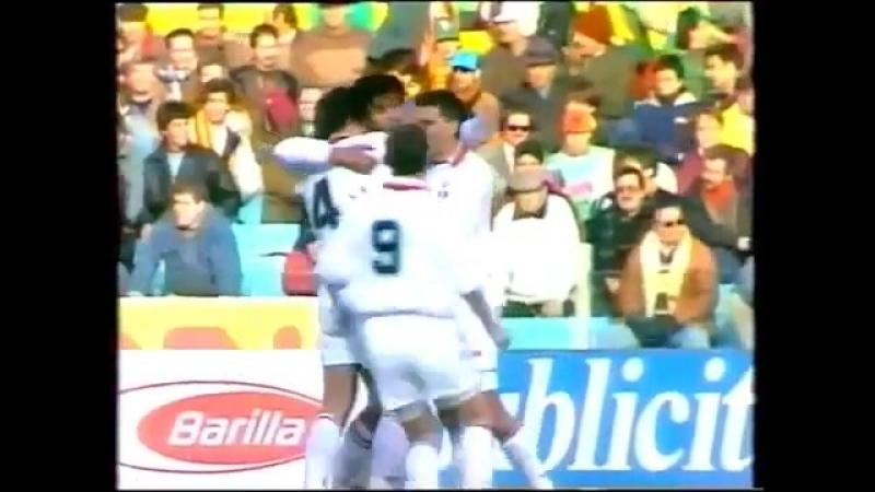 Ruud Gullit Milan vs. Roma 1993