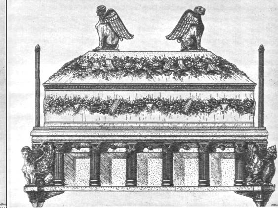 Саркофаг царицы из Неаполя скифского, реконструкция. Эллинское влияние несомненно!