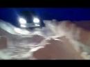 Renault Sandero Stepway, спуск по снегу