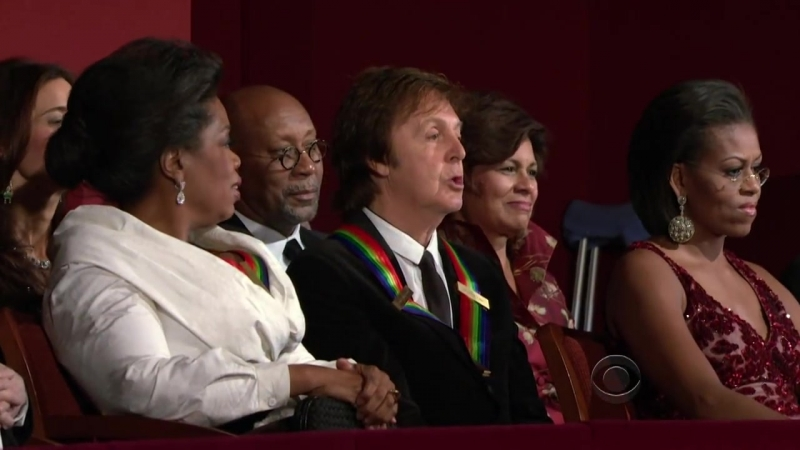 Steven Tyler - Abbey Road Side 2 Medley - Kennedy Center Honors Paul McCartney