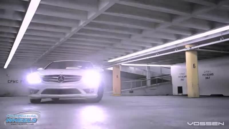 Mercedes Benz CL63 Series on 22' Vossen VVS-CV3 Concave Wheels _ Rims.mp4
