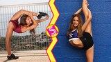 Cheerleading VS Gymnastics Best Skills Battle 2018
