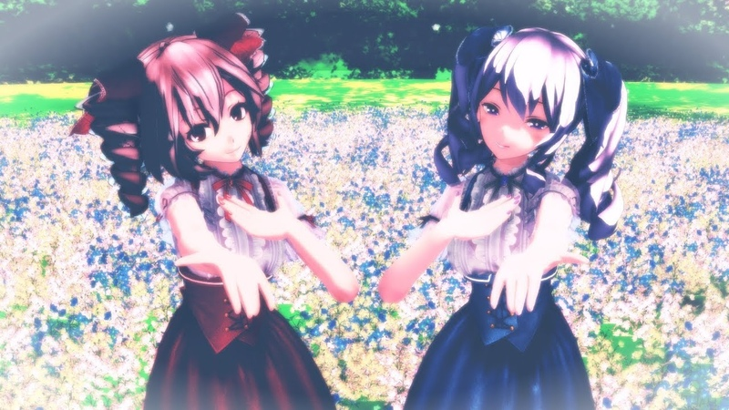 【MMD】Twinkle World Tda式 テト つみ式 鹿島