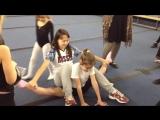 Растяжка в художественной гимнастике
