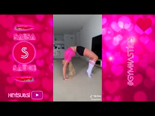 Sls gymnastics vs cheerleading and contortion tiktok compilation 2019 - best gymnast