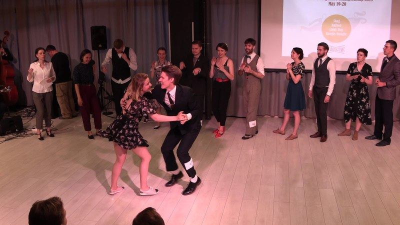 Lindy Hop Advanced Strictly Finals at Russian Swing Dance Championship 2018