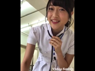 Мию в образе медсестры для  журнала «Seiyu Paradice»