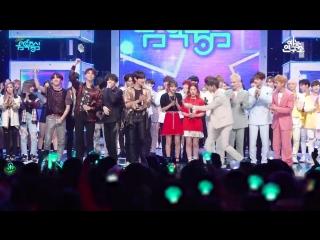 FANCAM 180609 1st Place + Ending @ Music Core