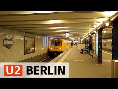 U-Bahn Berlin: U2 Action in the Center - Part 1