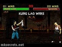 Mortal Kombat II - Friendship- Kung Lao