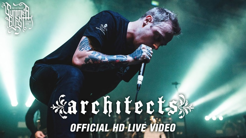 Architects Summerblast 2015 Official HD Live Video FULL CONCERT