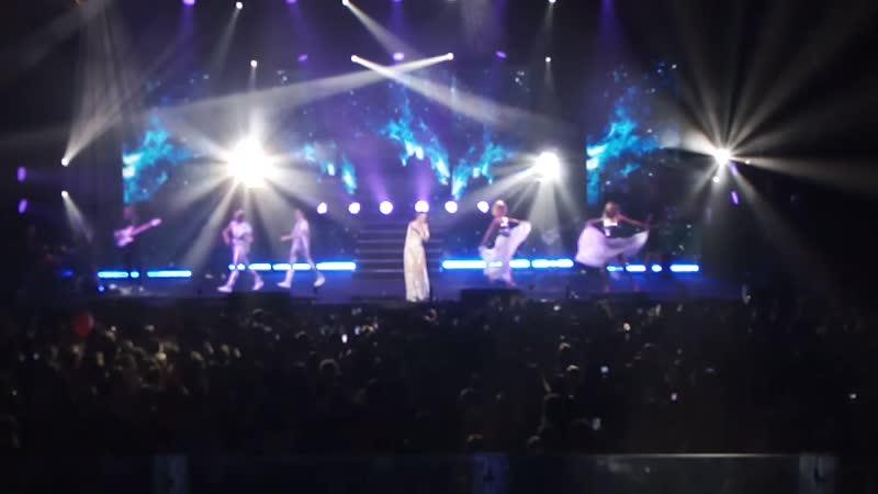 Наталия Орейро в Тольятти, Лада-Арена 4 апреля 2019