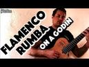 Zimir Rumba Flamenco Guitar - Ben Woods - Godin Ambiance
