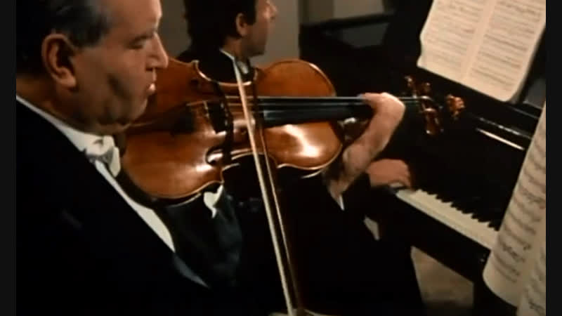 W.A. MOZART • David Oistrach Paul Badura-Skoda • Violin Sonata KV 481 * part 1 of 3 • 1972
