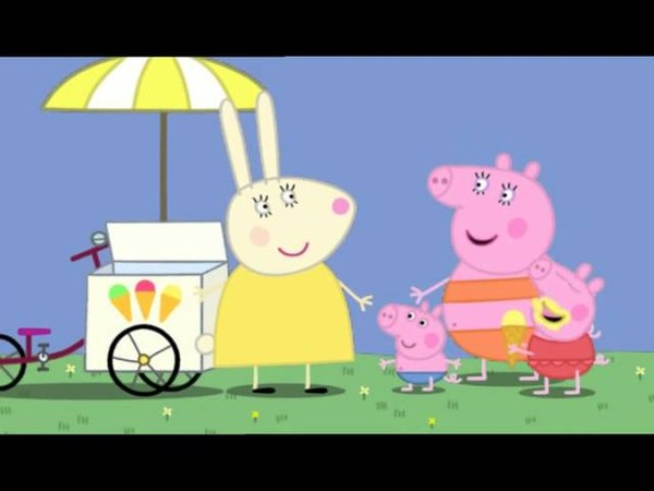 Peppa Pig Series 1 Episode 35 Very Hot Day