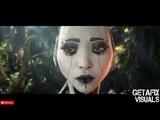 Astrix - Poison (Wrecked Machines Remix) - - Full Visual Animated Trippy Videos - - GetAFix