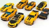 Transformers Movie 1 2 3 4 5 Deluxe Class Bumblebee Camaro Car 8 Vehicle Robots Toys