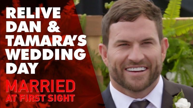 Relive Daniel and Tamara's wedding day   MAFS 2019