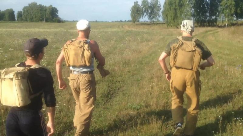 Дайдокай (Бийск). Марш-бросок на 17,5 км. 18.08.2018 г.