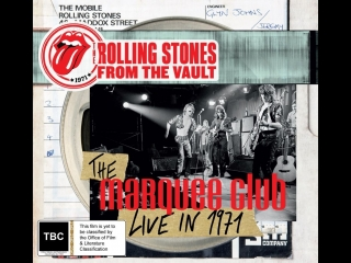The Rolling Stones* : From The Vault The Marquee Club Live In 1971 [2015 г., Rock, DVD5]