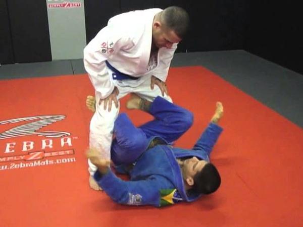 BJJ / MMA Training Techniques | Closed Guard Sweep To Stand Up Leg Control | Inferno, Marlboro NJ bjj / mma training techniq
