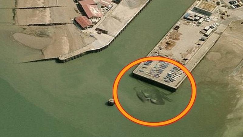 Странные вещи найденные на Google Картах