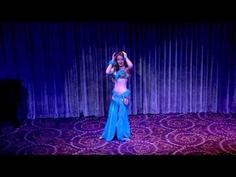 Maria at Ozgen show ~ bellydance ~ Baladi Ruh