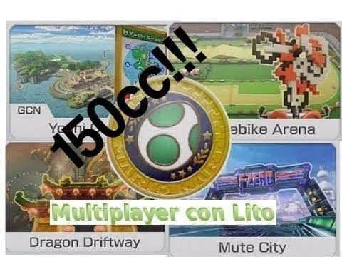 Mario Kart 8 Egg Cup Multiplayer con Lito