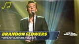 Brandon Flowers Performs The Killers When You Were Young (Acoustic)
