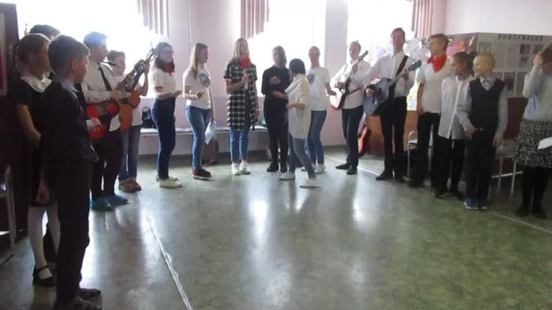 Реп. песни Голуби на М\К по сценич. и актерскому мастерству импровиз-ной командойДимочки (продолж)