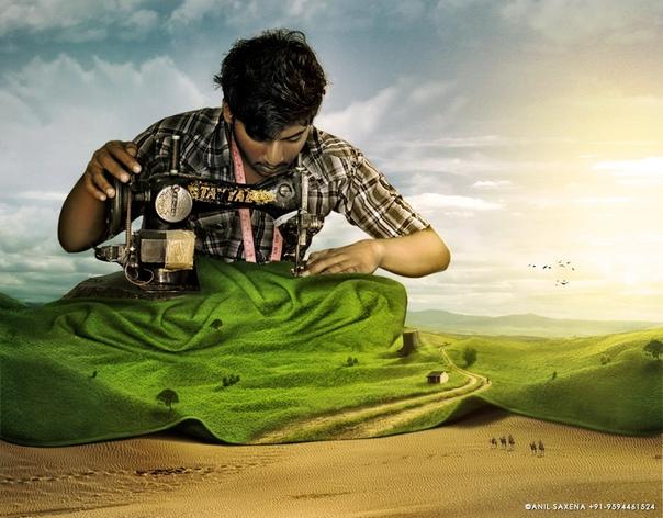 Цифровой художник Анил Саксена (Anil Saxena) из Мумбаи, Индия, создаёт удивительные фотоманипуляции с помощью Photoshop. Его сюрреалистические изображения изумительны и