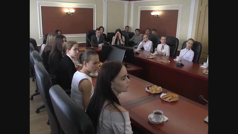Александр Евстифеев собрал лучших молодых атлетов Марий Эл в доме правительства